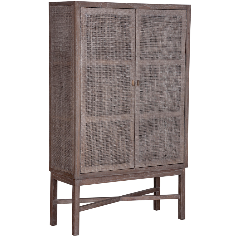 Stylish And Practical Contemporary Furniture For Every: Contemporary Whitewash Design, Natural Rattan