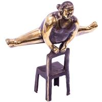 Bronze Figurine - Yoga Lady Splits