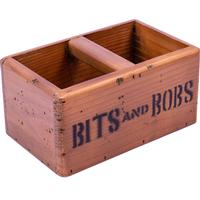 Rustic Timber Storage Box - Bits and Bobs