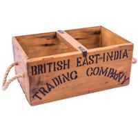 Rustic Timber Storage Box - Trading Co