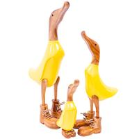 Timber Ducks in Yellow Boots