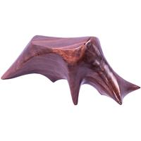 Solid Teak Abstract Charging Bull