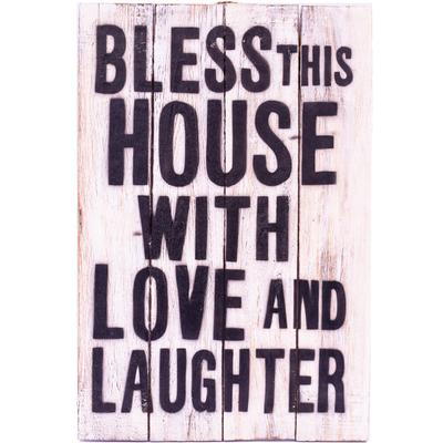 Wall Art - Timber Sign - Bless this House