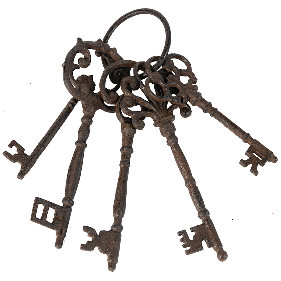 Java The Sebastian Decorative Key Set Is Made From Solid