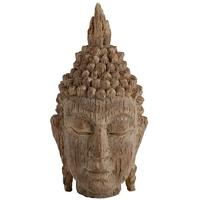 Etched Buddha Head