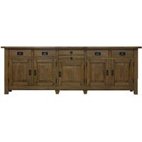 Winston 5 Door x 6 Drawer Large Statement Buffet