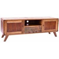 Rustic 2 Door Retro Entertainment Unit