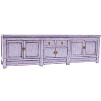 Far East - Distressed Grey TV Stand