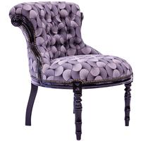 Tufted Accent Chair - Geo Grey