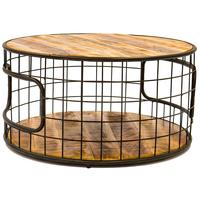 Industrial Style Round Coffee table