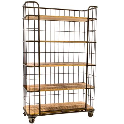 Industrial Style - Cage Bookcase