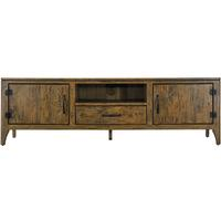 Long Rustic TV Stand