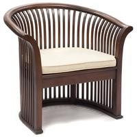 Kersi Slatted Teak Occasional Chair