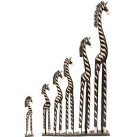 Timber Zebras in Variety of Sizes