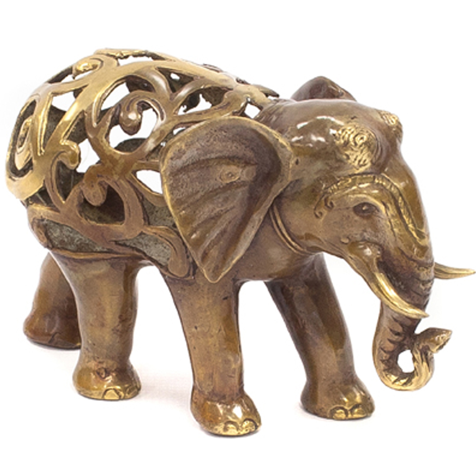 Java This Bronze Elephant Is A Beautifully Crafted Quality Piece A Traditional Ornament And A