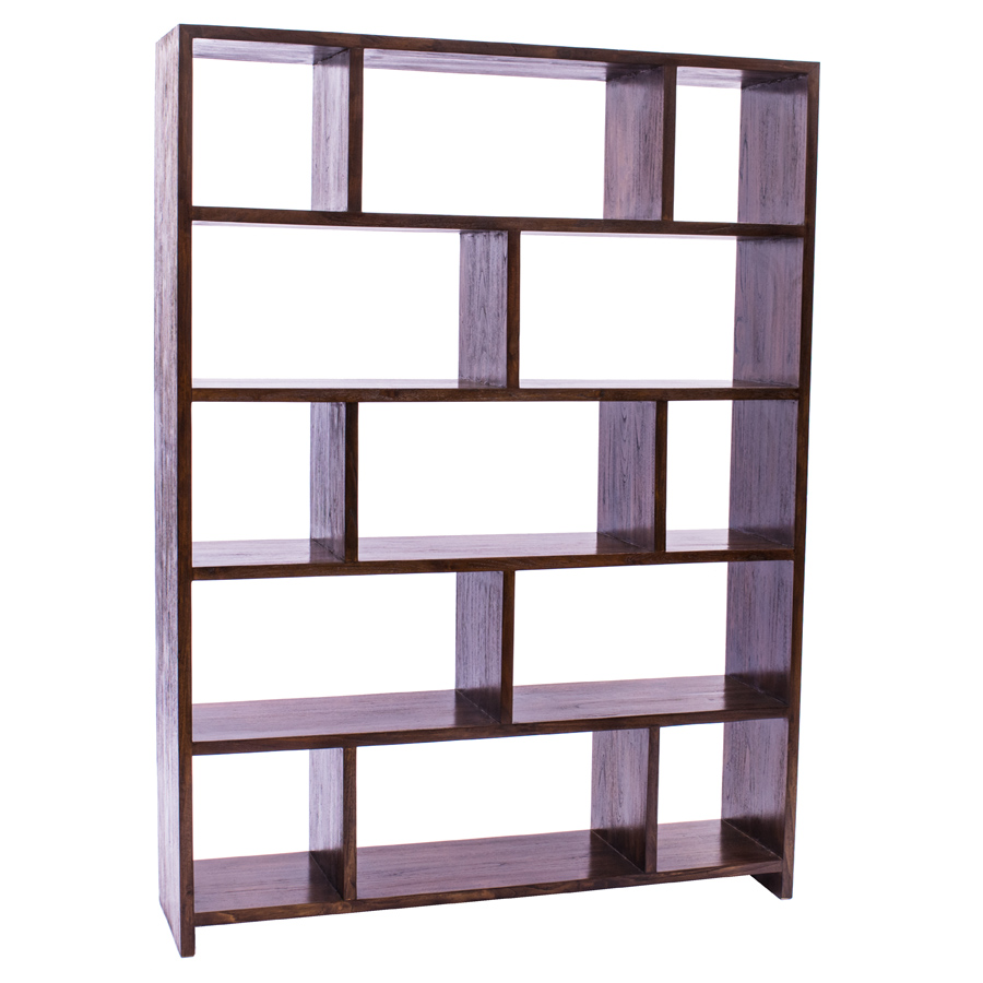 Java The Eden Is The Largest Bookcase In Our Rustic Teak