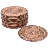 Rattan Table Placemats - Round